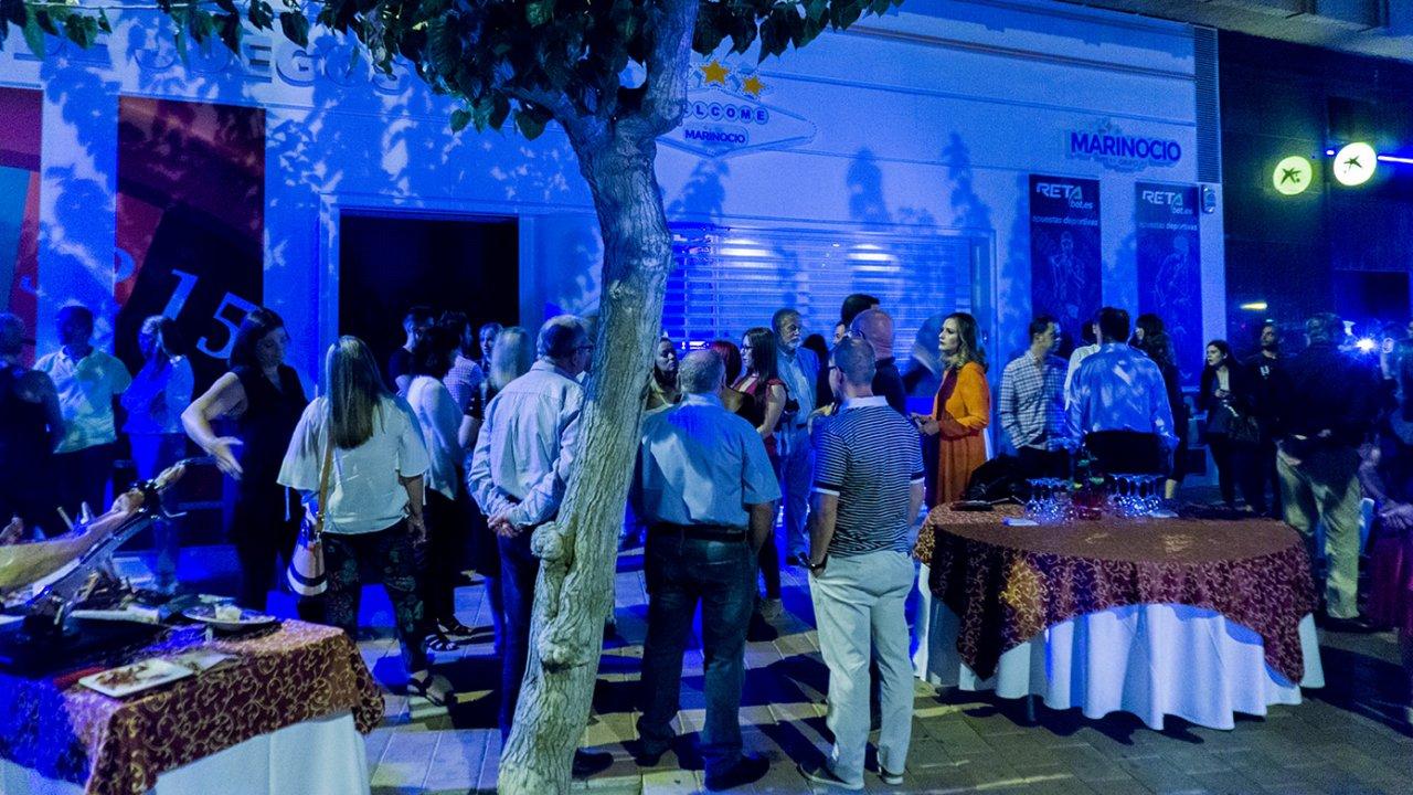 Inauguración de nueva sala en Murcia